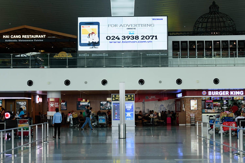 Những lợi ích khi đặt quảng cáo ở các màn hình led sân bay