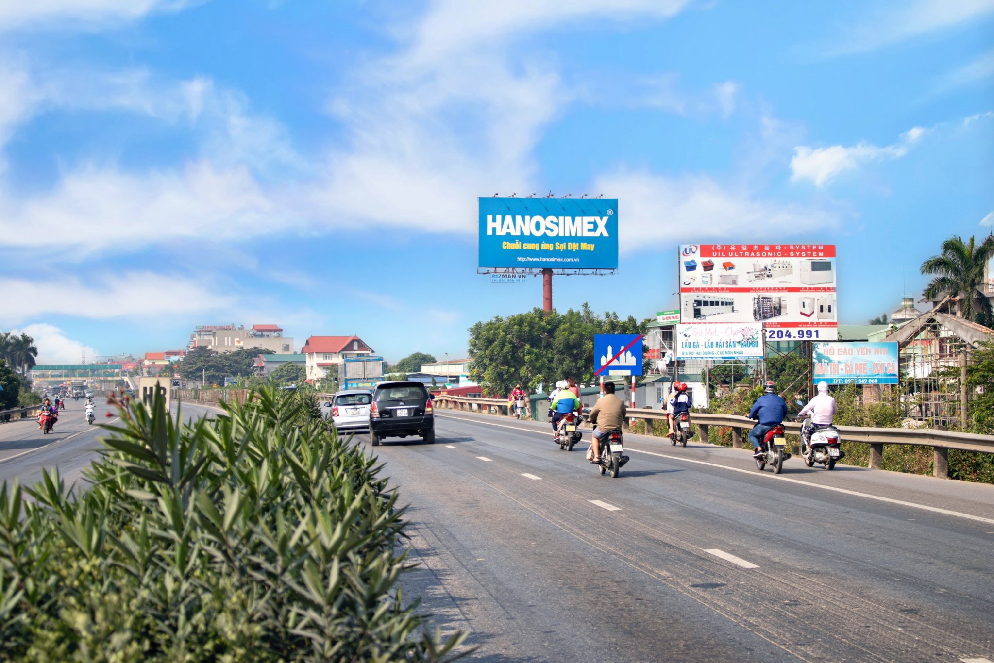 Vị trí Km H5/39 + 95: Phía bên trái QL5, Hà Nội - Hải Phòng, đoạn qua Tp.Hải Dương