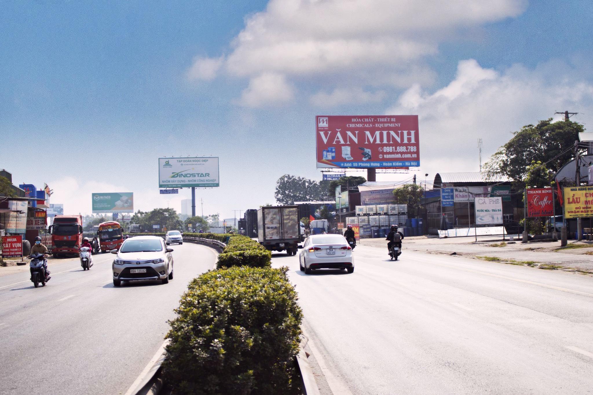 Vị trí KmH6/17 + 20: Trạm soát vé trên tuyến QL5B, đoạn Hà Nội – Hải Phòng