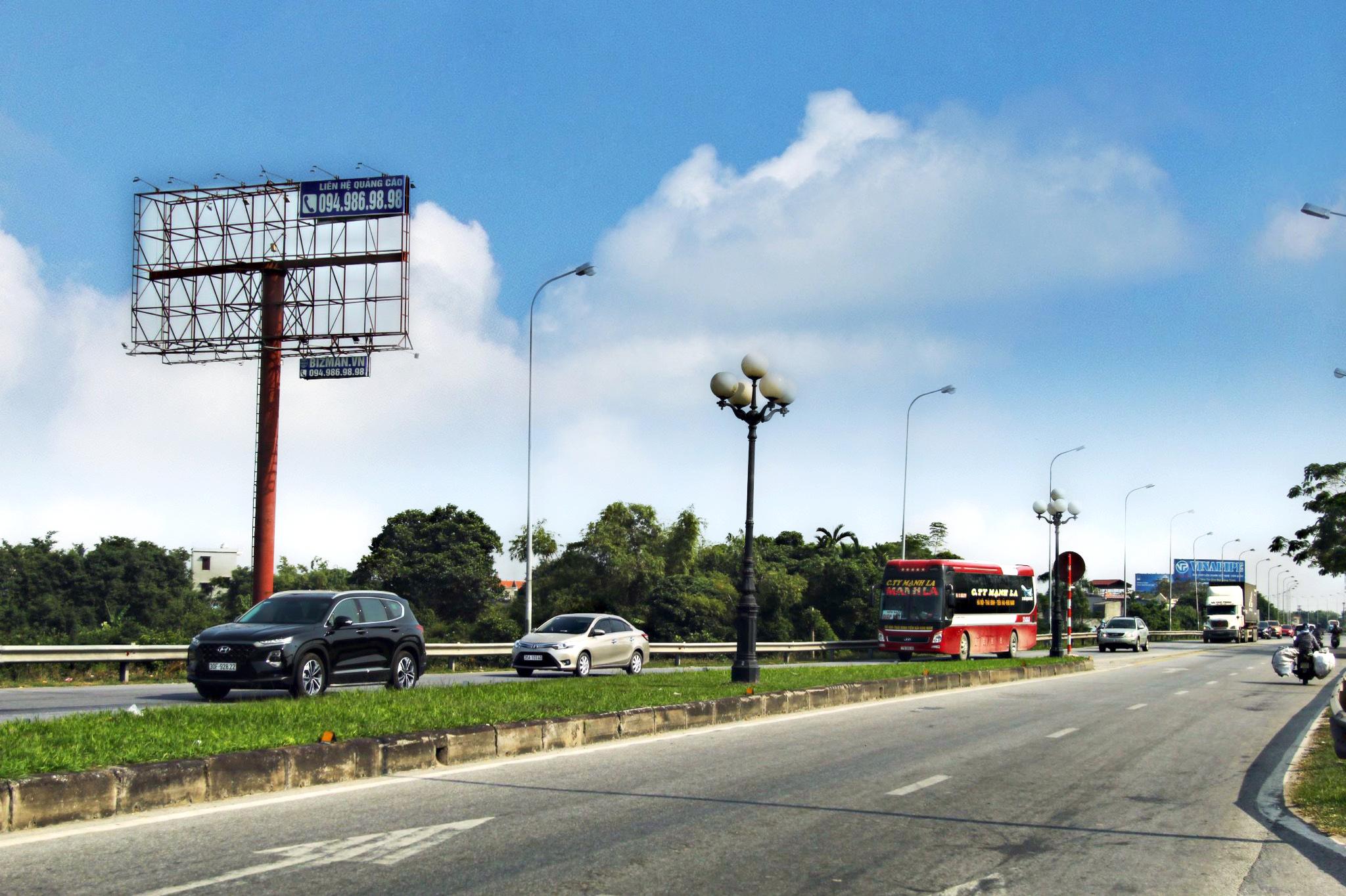 Vị trí gần Cầu Tân Đệ, QL10 tuyến Nam Định – Thái Bình, đoạn qua tỉnh Nam Định