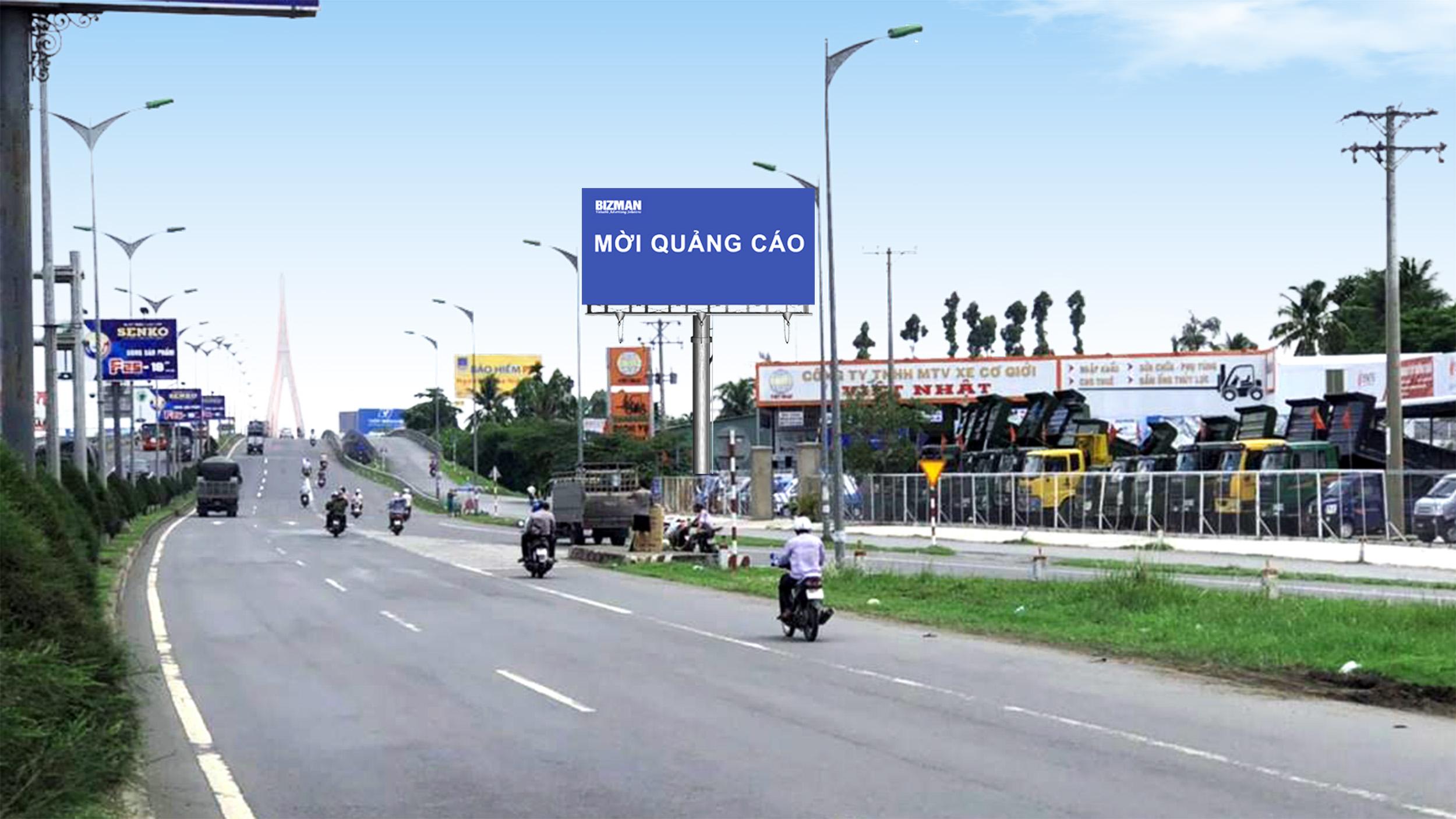 Vị trí số 18 (Bên phải - gần cầu Vĩnh Long): Nằm trên tuyến QL1A, đoạn Vĩnh Long - Cần Thơ, tỉnh Cần Thơ