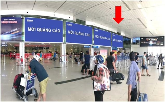 Vị trí DC01: Khu vực check-in sảnh Vietjet, Ga đi Quốc nội