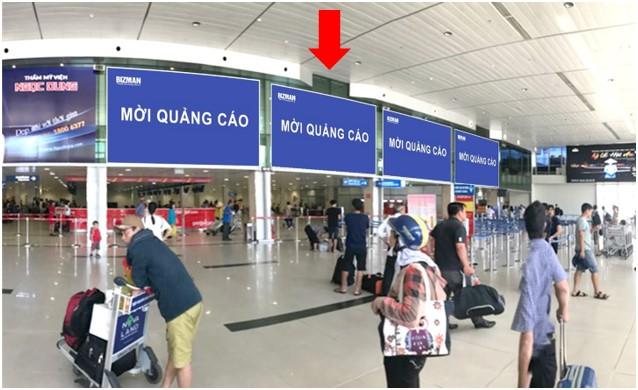 Vị trí DC03: Khu vực check-in sảnh Vietjet, Ga đi Quốc nội