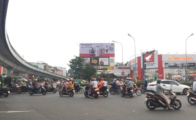 Vị trí SG.GV.01: Đặt tại Số 1 Quang Trung, Phường 3, Gò Vấp, Hồ Chí Minh