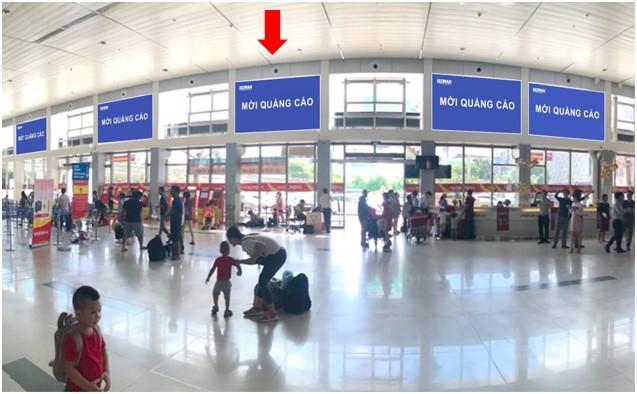Vị trí HD03: Khu vực check-in sảnh Vietjet, Ga đi Quốc nội