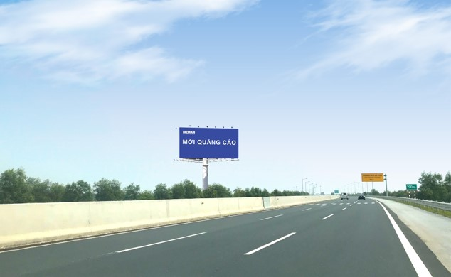 Vị trí YM 46-B (Km23 + 850): Năm trên tuyến cao tốc Hà Nội - Hải Phòng, đoạn qua Tp. Hưng Yên