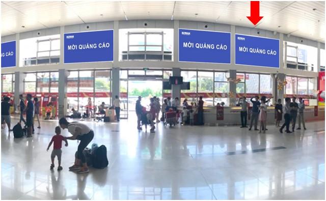 Vị trí HD05: Khu vực check-in sảnh Vietjet, Ga đi Quốc nội