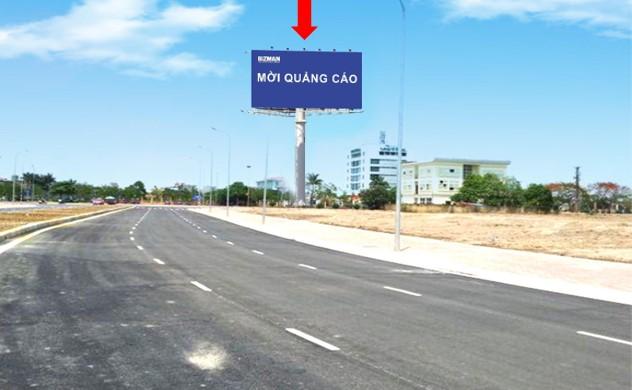 Vị trí OP01: Phía bên phải đường, hướng từ Lê Hồng Phong vào nhà ga