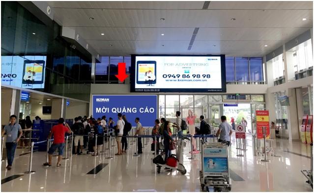 Vị trí HD06: Khu vực check-in sảnh Vietjet, Ga đi Quốc nội