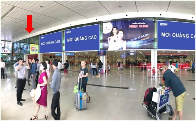 Vị trí DC06: Khu vực check-in sảnh Vietjet, Ga đi Quốc nội