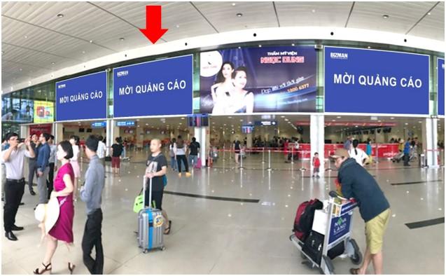 Vị trí DC05: Khu vực check-in sảnh Vietjet, Ga đi Quốc nội