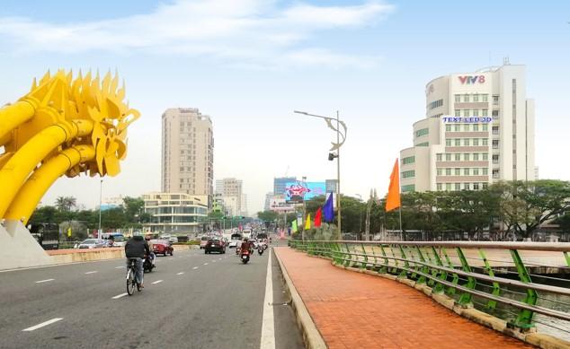 Vị trí ĐN.HC03: Bộ chữ LED gắn bề mặt công trình tòa nhà Trung tâm Truyền hình Việt Nam tại Thành phố Đà Nẵng