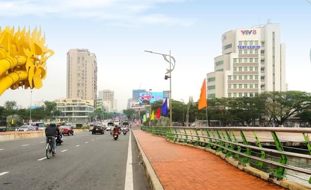 Vị trí ĐN.HC02: Bộ chữ LED gắn bề mặt công trình tòa nhà Trung tâm Truyền hình Việt Nam tại Thành phố Đà Nẵng