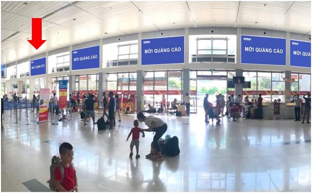 Vị trí HD01: Khu vực check-in sảnh Vietjet, Ga đi Quốc nội