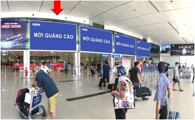 Vị trí DC04: Khu vực check-in sảnh Vietjet, Ga đi Quốc nội