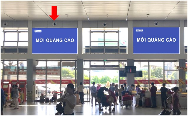 Khu vực check-in sảnh Vietjet, Ga đi Quốc nội