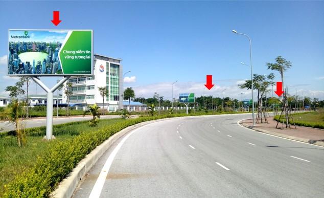 Hướng nhìn nhà Ga – đường Lê Hồng Phong