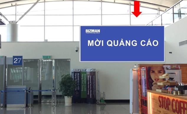 Khu vực phòng chờ lên máy bay Gate 26 - 27, Ga đi Quốc tế