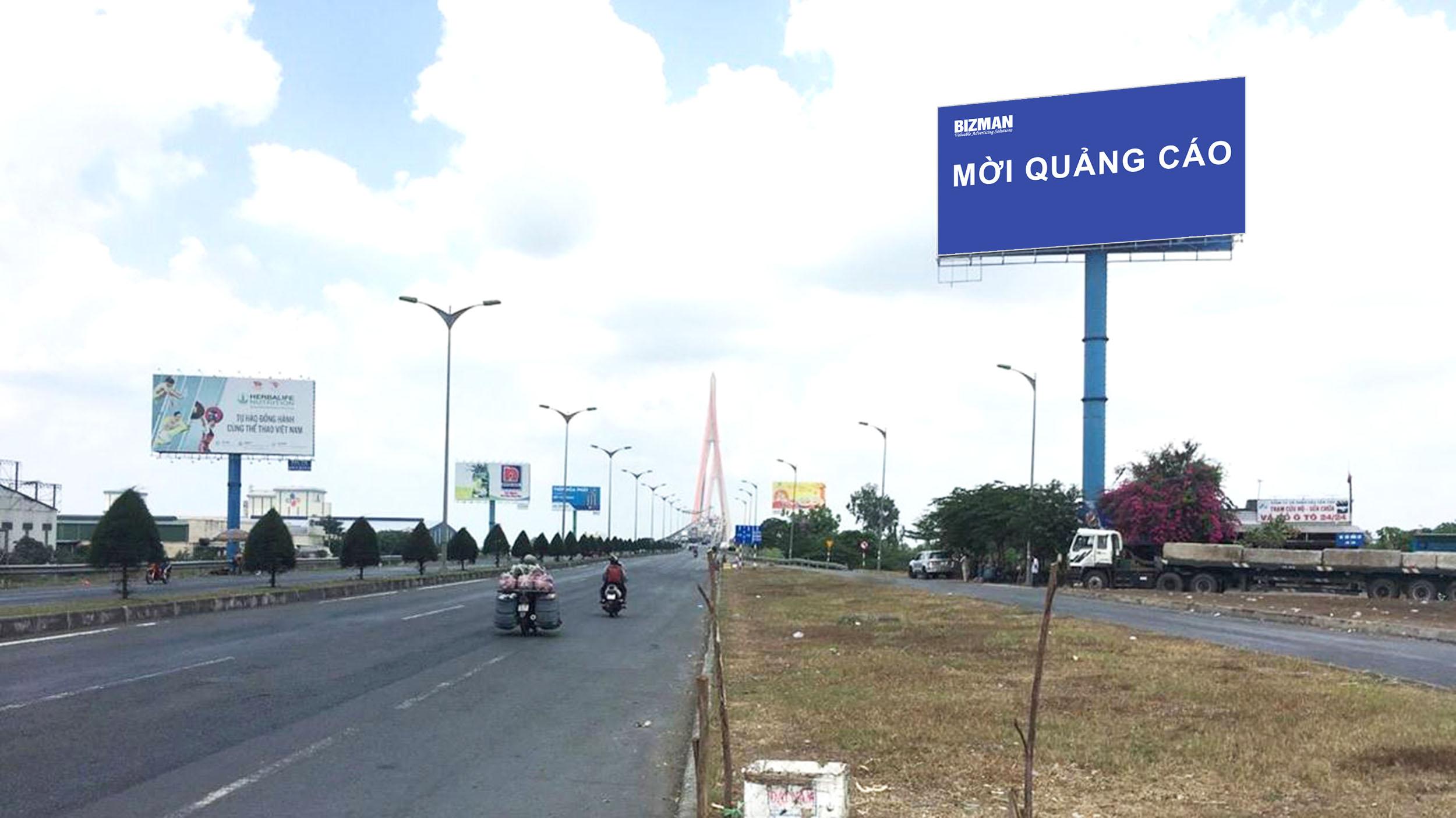 Hướng nhìn từ Vĩnh Long đi TP. Cần Thơ