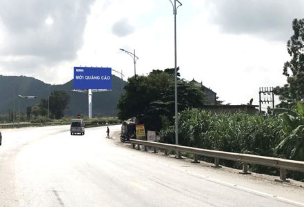 Vị trí KmH2/442 + 20: Năm trên tuyến QL1A, đoạn Thanh Hóa - Nghệ An, tỉnh Nghệ An